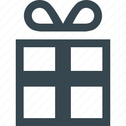 box, christmas, gift, holiday, package, present, xmas icon