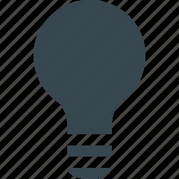bulb, business, creative, idea, lamp, light, lightbulb icon