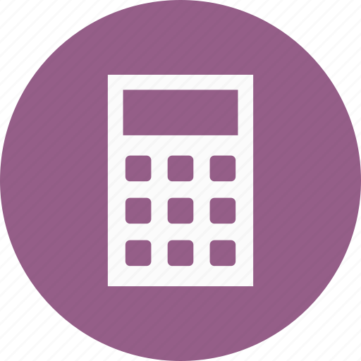 accounting, calculator, finance icon