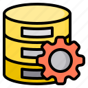 commerce, database, digital, internet, online, server, technology icon