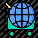 commerce, digital, global, internet, online, shopping, technology icon