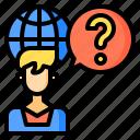 commerce, digital, global, internet, online, support, technology icon