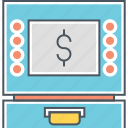 atm, auto teller machine, bank machine icon