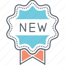 brand new, new, new arrival icon