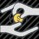 cash back, cash payment, cashback, payment icon