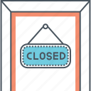 closed, closed sign icon