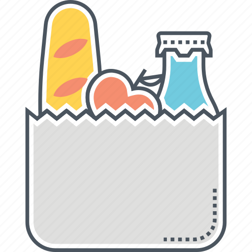 groceries, grocery icon
