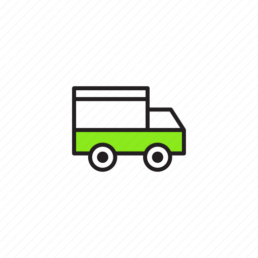 courier, delivery, package, shipping, transport icon