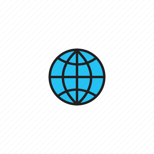 internet, network, web, world icon
