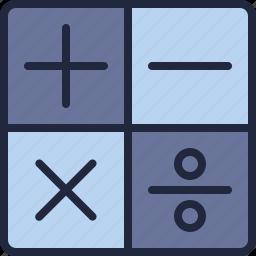business, calculator, company, ecommerce, economy, math icon
