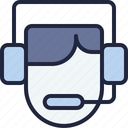 business, company, costumer, ecommerce, economy, service, telemarketer icon