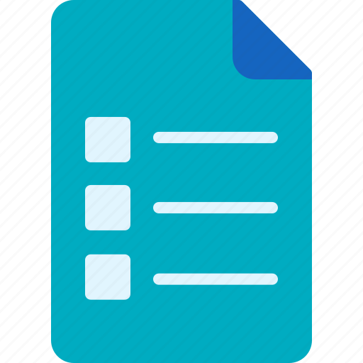 Business, company, ecommerce, economy, list, order icon - Download on Iconfinder
