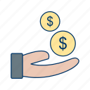 buy, buyer, economics, market, pay, retail, sell icon