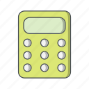 calculation, calculator, math