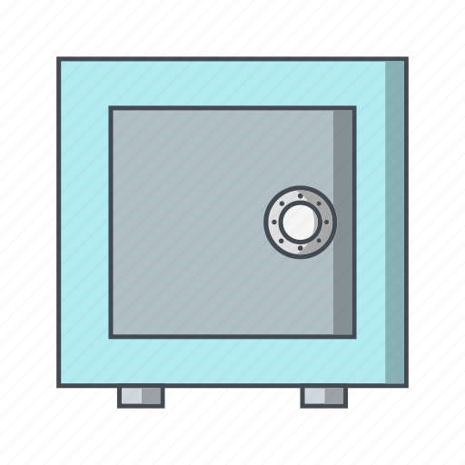 locked, locker, safe, vault icon