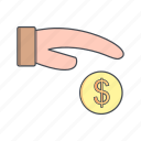 credit, money, pay, payment icon