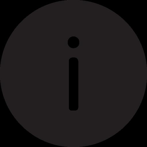 description, full, info, information, read, round icon