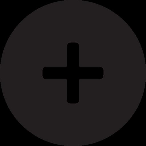 add, full, more, plus, round icon