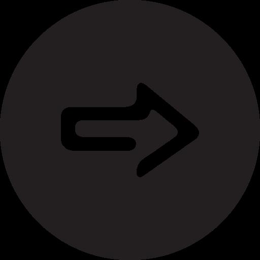 full, next, round icon