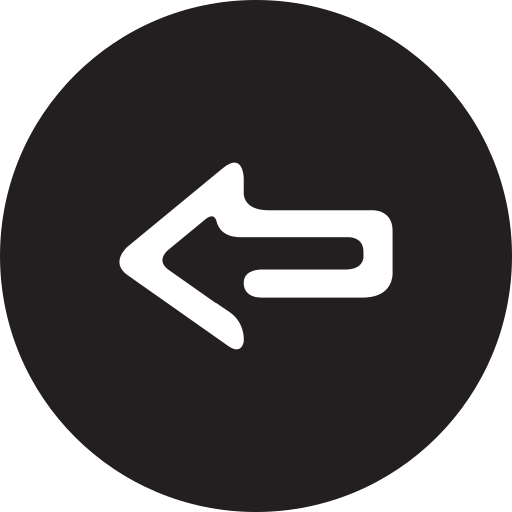 back, full, previous, round icon