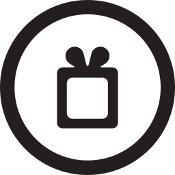 free, linecon, round, wish, wishlist icon