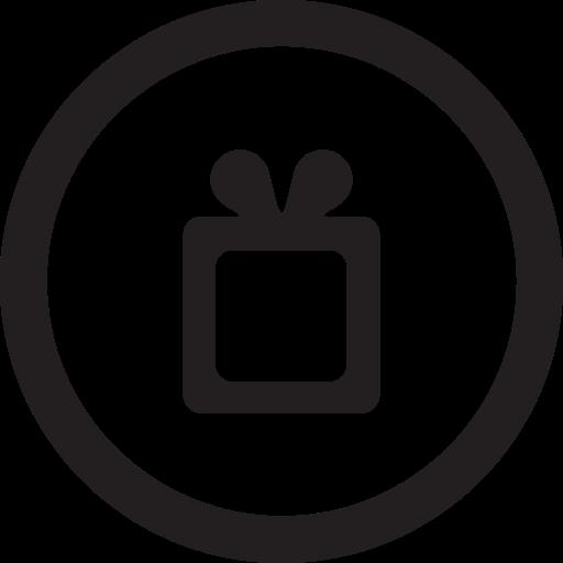 free, linecon, round, wish, wishlist icon