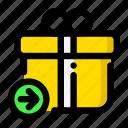 add, bonus, gift, send icon