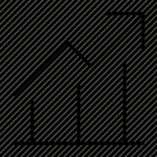 analytics, bar, chart, graph, report, sale, statistics icon