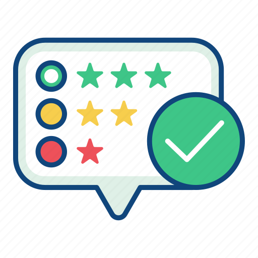 customer, evaluation, experience, feedback, rating, review, satisfaction icon