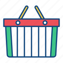 basket, commerce, purchase, retail, shopping, store, supermarket icon