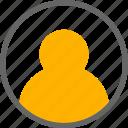 profile, user, account