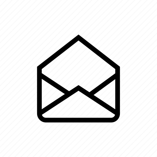 envelop, mail, message, open icon