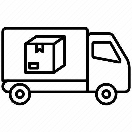 Delivery, logistics, shipping, truck, cargo, transport, vehicle icon - Download on Iconfinder
