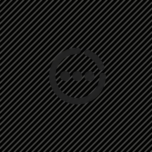 delay, ecommerce, online, outline, shop, time, wait icon