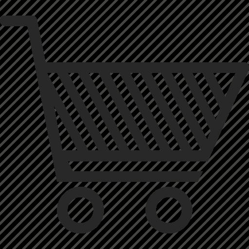 cart, purchase, retail, shopping cart icon