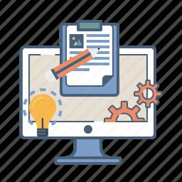 business, concept, creative, idea, online, startup, venture icon