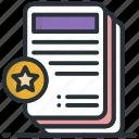 document, extension sheet, text sheet, word sheet, writing sheet icon