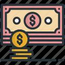 cash, currency, dollar, money, usd icon