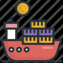 cruise, merchant ship, sailboat, ship, travel, yacht