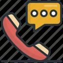 call, communication, phone receiver, receiver, talk