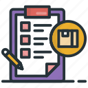 checklist, list, memo, shopping list