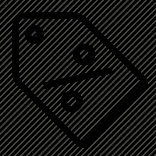 cut, discount, percent, price, sale, tag icon