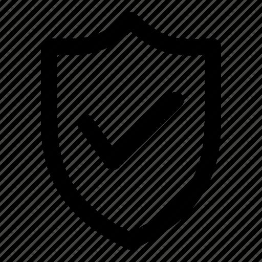 ecommerce, guarantee, guard, shield, trush icon