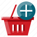 add to chart, business, e commerce, online shop, online store, shopping, shopping basket icon