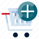 add to chart, business, e commerce, online shop, online store, shopping, trolley icon