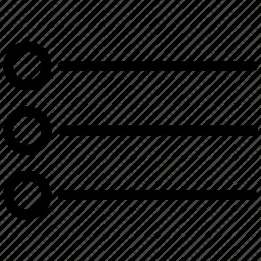 List, menu icon - Download on Iconfinder on Iconfinder