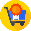 cart, shopping, trolley, trolley icon icon