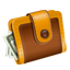 cash, checkout, dollar, money, pay, wallet icon