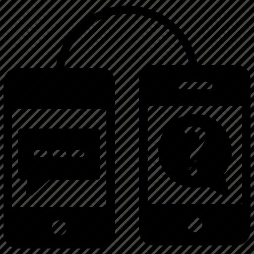 consultation, discussion, faq, problem solving, question answer icon
