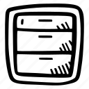 archive, e-learning, education, elearning, online courses icon